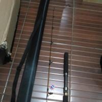 Joran Pancing Jigging 165 Cm Pe3 4 Ring & Reel Pancing Seat Fuji Bonus