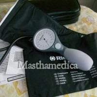 Tensimeter Riester Ri-San Sphygmomanometer Aneroid Pegas Jarum Abu Abu