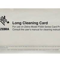 CLEANING KIT / LONG CLEANING CARD PRINTER ZEBRA P330i