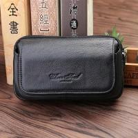 hpo kulit cheer soul 2382 hitam Panjang 17,5cm (dompet hp,tempat hp,sa