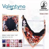 Jilbab Satin Sutera Segi Empat Terbaru Umama Valentyno Design 07
