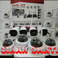 PAKET CCTV IP 8 CAMERA 3MP 1080P ( CCTV FULL WIRELESS )