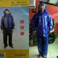 jas hujan & mantel nelayan & taiwan bahan karet pvc tidak muda Murah
