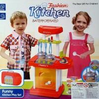 Mini Kitchen Set Koper Merah