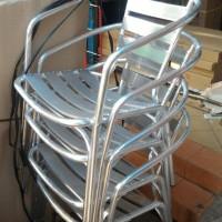 kursi aluminium foodcourt kursi outdoor pujasera kursi cafe kafe anti