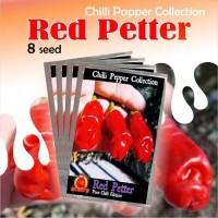 Benih Bibit Biji Tanaman Cabai Red Petter Cabe Hias Unik 8 Seed