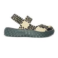 Sepatu Anyaman Lulia Flat Vs29CreamCoffee Bernice Cynthia Kiddo Oggo