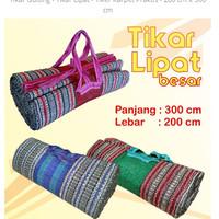Tikar Lipat Tiker Karpet Praktis Tikar Gunung Tikar Gulung Tikar Murah