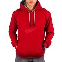 Sweater Hoodie Polos Maroon Size S M L XL 2XL 3XL 4XL 5XL