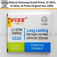 Baterai Vizz Double Power Original Samsung J2 Prime G532 2016 Batre
