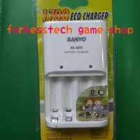 Sanyo Basic Charger for Recharger Battery / Baterai
