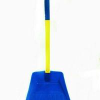 Pengki/Serokan/Serok/Sekop Sampah Gagang plastik DX Apollo