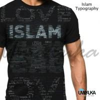 Harga kaos motif islami islam typography umakuka 3d fullprint   antitipu.com