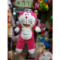 Jual Boneka Doraemon besar warna Pink Murah