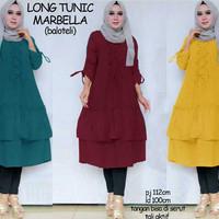 tunik xl jumbo bigsize baju muslim hijab blouse big size bluss tunic