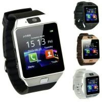Jam Tangan Pria/Wanita Smartwatch tali rubber/Karet bisa untuk telpon