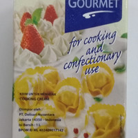 cooking cream master gourment 1 lt