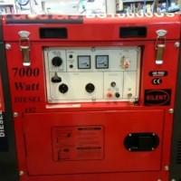 genset silent 7000 watt diesel single phase.GRATIS ONGKIR P.JAWA