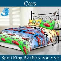Tommony Sprei King B2 180 x 200 - Cars