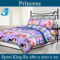 Tommony Sprei King B2 180 x 200 - Princess