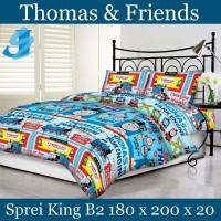 Tommony Sprei King B2 180 x 200 - Thomas & Friends