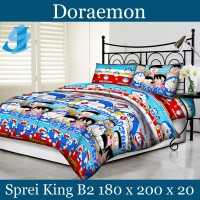 Tommony Sprei King B2 180 x 200 - Doraemon