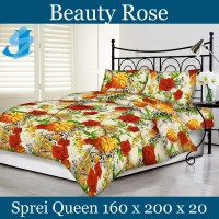 Tommony Sprei Queen 160 x 200 - Beauty Rose