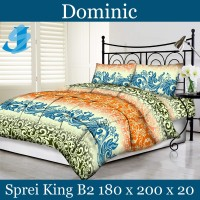 Tommony Sprei King B2 180 x 200 - Dominic