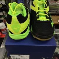 JUAL Sepatu Mizuno Original Thunder Blade Black Lime