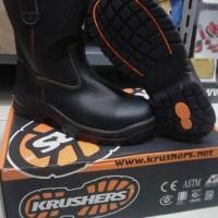 JUAL sepatu krusher texas sepatu safety safety shoes