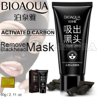 BIOAQUA Black Mask / Remove Black Head / ORIGINAL Masker Komedo A429