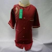 Baju Koko Anak Laki - Laki Fashion Muslim Anak Lengan Pendek KKT 052 T