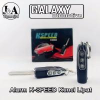 KA Alarm Mobil Universal K Speed Remote Type Kunci Lipat Premium Clas
