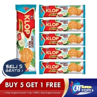 OT/ KLOP COCONUT ORIGINAL 117GR BUY 5 GET 1