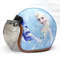 Helm Bogo Anak Remaja Full Kulit Printing Motif Frozen