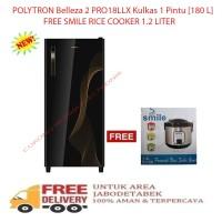 Harga Kulkas Polytron Belleza 2 Pintu Travelbon.com