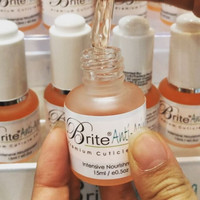 Cuticle serum (oil)/ vitamin cuticle. Merek Brite