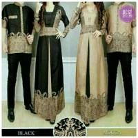 NEW Couple Baju Muslim Couple Elegan Batik Elegant Harga Sepasang