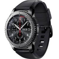 MURAH Samsung Gear S3 Frontier With Black Sport Band Bnib Smartwatch