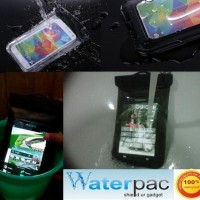 GROSIR Case Waterproof Sarung Hp Anti Air (Bikin Hp Jadi Kamera