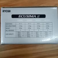 Reel Pancing Ryobi Ecusima 2 4000 4.1 Ball Bearing