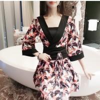 BFS.124 baju fashion wanita dress model dan gambar wanita jepang