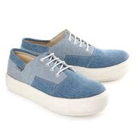 Sepatu Sneakers / Kets Wanita jeans biru Blackkelly LGI 621