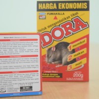 Racun Tikus Dora Fumakilla 200gr