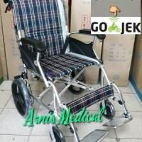 kursi roda travel LX 863 LABJ Ringan mudah di lipat anti karat Limited