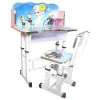 Promo Meja Belajar Anak Plus Kursi Set Furniture Study Desk Ta Murah