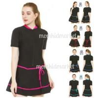 Jual Baju Renang Wanita Ukuran M L dan XL Dewasa HDR 1119