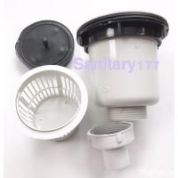 Afur keranjang cuci piring plastik murah / saringan filter bak cuci