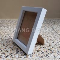 Harga bingkai foto 5r putih tebal 3cm frame photo minimalis murah | antitipu.com