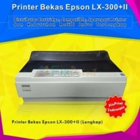 Printer Bekas Epson Dot Matrix Kasir LX300+II LX300+2 Port USB Lengkap